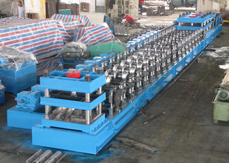 W Beam 3 Wave Highway Guardrail Membentuk Mesin / Rolling Forming Making Machine