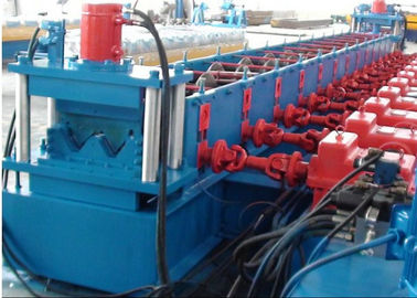 Highway Guardrail Roll Forming Machine Kekuatan Hasil Tinggi Galvanized W Beam