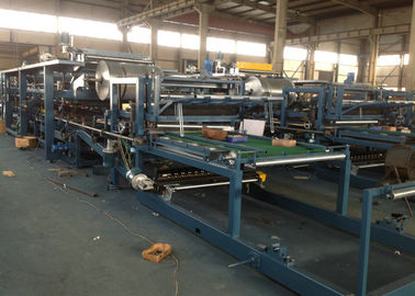 Cina PPGI EPS dan Rockwool Sandwich Panel Production Line PLC Control Box Distributor
